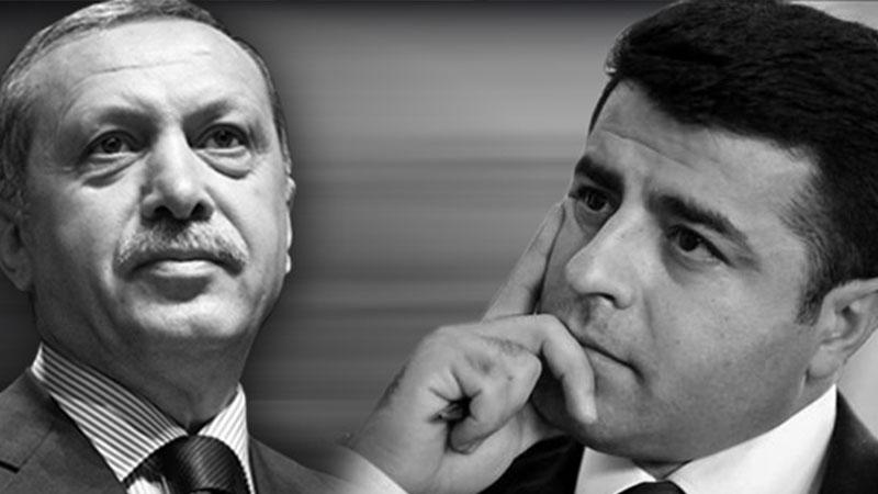 """Demirtaş """"Tutuklama talebi siyasi karar"""" demişti; Erdoğan: Bunları bırakamayız"""
