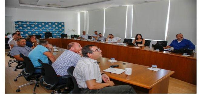Gazimağusa Belediyesi'nde Mekansal Adres Kayıt Sistemi ile ilgili bilgilendirme toplantısı yapıldı