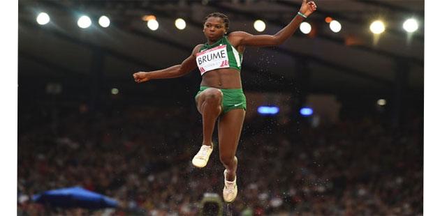 DAÜ'nün olimpik atleti Ese Brume Dünya Şampiyonası'nda altın madalyayı hedefliyor
