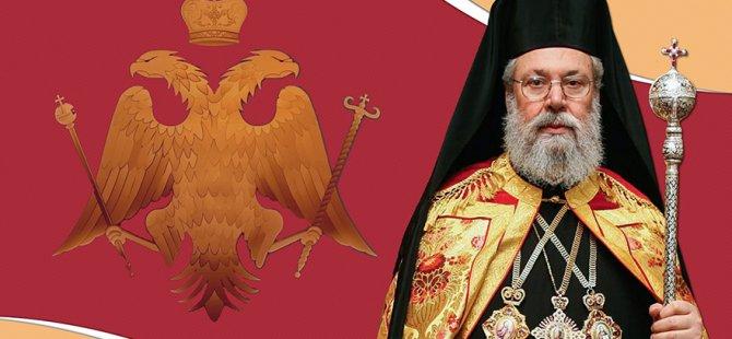 """Başpiskopos II. Hrisostomos: """"Kıbrıs sorunu için endişelenmiyorum, çünkü çözüm hiçbir zaman olmayacak"""""""