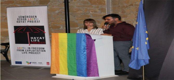 """Kuir Kıbrıs Derneği: """"Hayat Proje"""" açılışı ve sergisi gerçekleşti"""