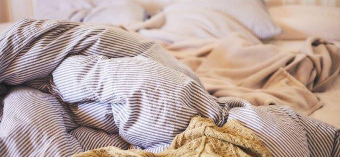 Yıkanmamış bir çarşaf ve yastık kılıfında klozet kapaklarına kıyasla 17 bin kat daha fazla bakteri kolonisi bulunuyor
