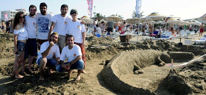 DAÜ XIII. Kumdan Heykel Festivali ve Yarışması  13 Ekim Pazar günü yapılıyor