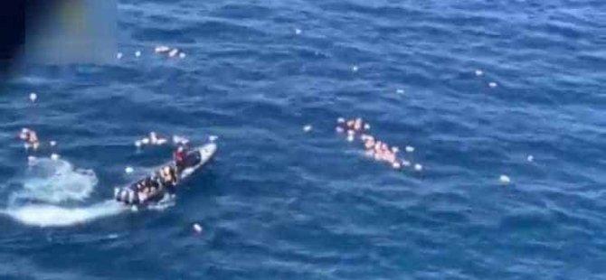 Denize düşen polisleri  uyuşturucu kaçakçıları kurtardı: Tutuklandılar