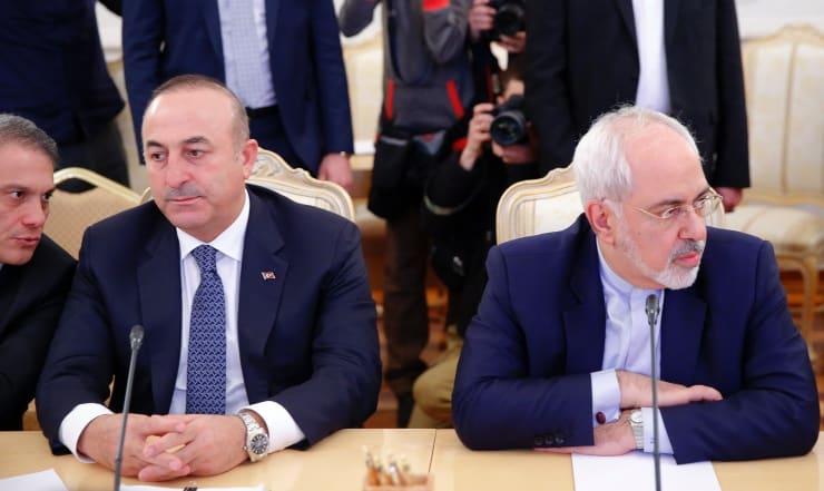Zarif, Çavuşoğlu'nu aradı: İran da Türkiye'nin Suriye operasyonuna karşı
