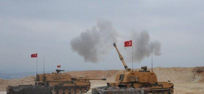 Barış Pınarı Harekâtı başladı: Suriye'nin kuzeyindeki Resulayn ve Tel Abyad'da hedefler havadan ve karadan vuruluyor