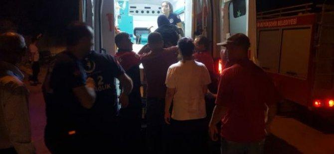 Nusaybin'de 3 kişi atılan roketler sonrası yaralandı