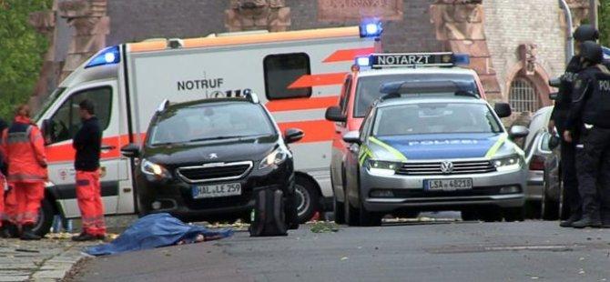 Almanya'nın doğusunda sinagog ve Türk dönercisinde silahlı saldırı: 2 kişi öldü