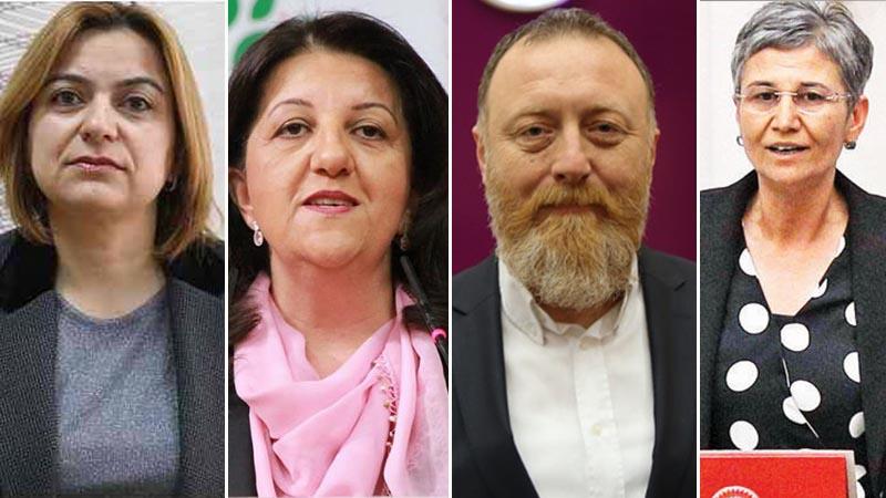 HDP eş genel başkanları ve 2 vekiline Barış Pınarı Harekâtı soruşturması