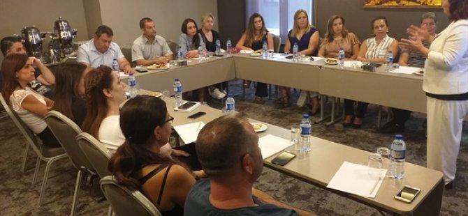 HAKSEN üyelerine İstanbul'da hizmetiçi eğitim verildi