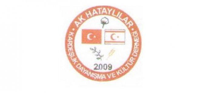 """Ak Hataylılar Derneği: """"Cumhurbaşkanı Akıncı'dan istifa açıklamasını bekliyoruz"""""""