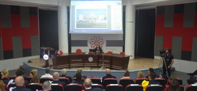 DAÜ 2019-2020 Akademik Yılı Açılış Töreni ve İlk Ders yapıldı