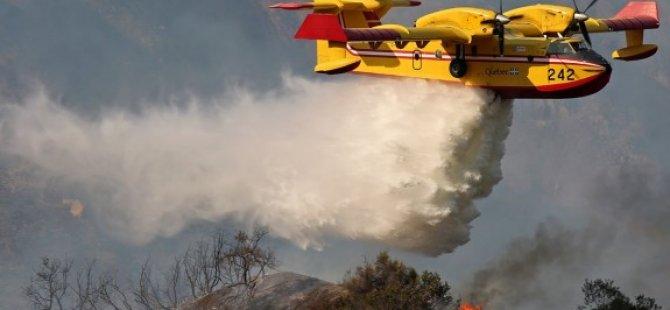 Güney Kıbrıs'tan Lübnan'a iki yangın söndürme uçağı