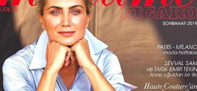 Dilek İmamoğlu, dünyaca ünlü moda dergisine kapak oldu
