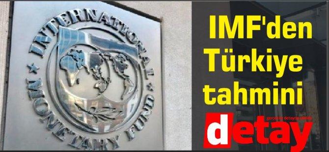 IMF'den Türkiye tahmini