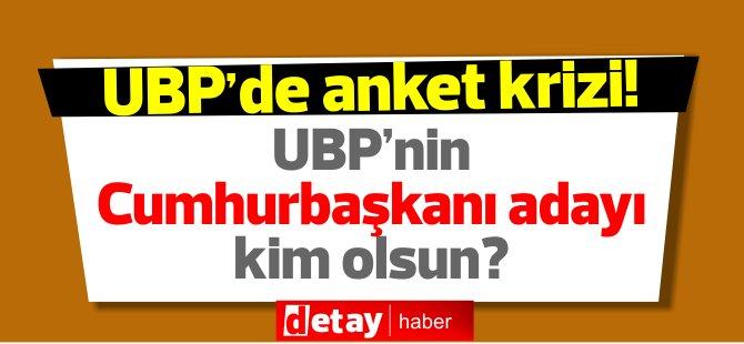 UBP'de anket krizi! Yine ayni anket şirketi!