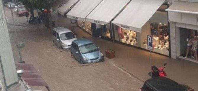 Yağışlar Girne'yi vurdu!