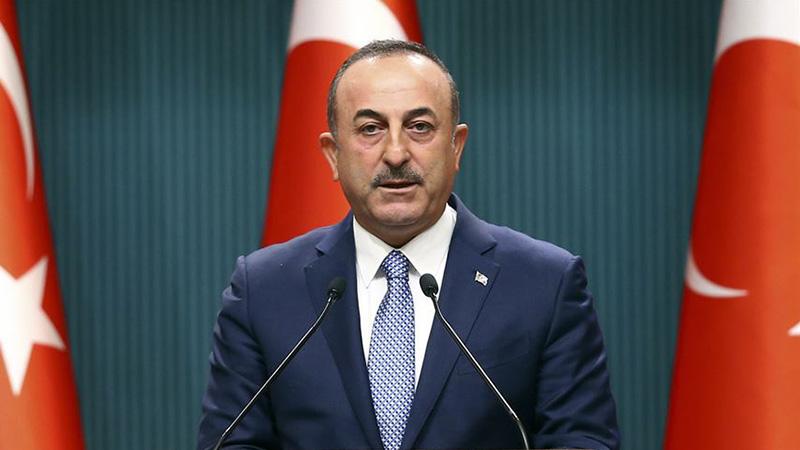Dışişleri Bakanı Çavuşoğlu: Operasyona ara vereceğiz, bu bir ateşkes değildir, ateşkes iki meşru taraf arasında yapılır