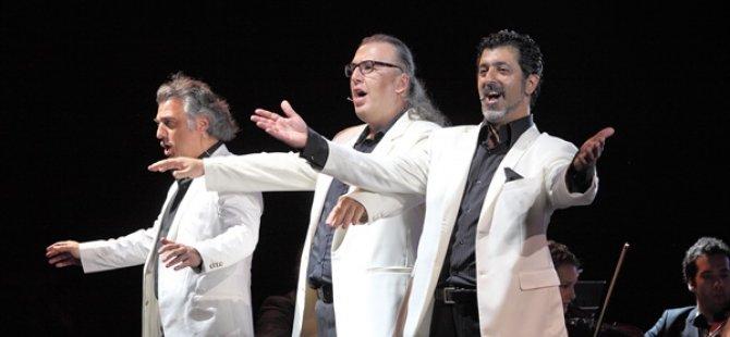 17. Uluslararası Kuzey Kıbrıs Müzik Festivali'nde 3 Basses konseri