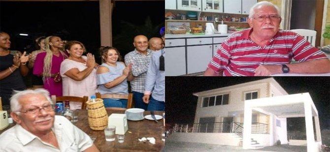 Nikolas Skuridis Kozanköy'de mutlu