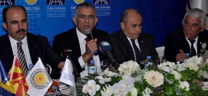 Türk Dünyası Belediyeler Birliği yeni Yönetim Kurulu ilk toplantısını Girne'de yaptı