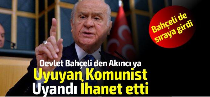 Bahçeli'den Akıncı'ya sert tepki: Utanmazlık… Tedavisi imkansız bir Türkiye husumeti..