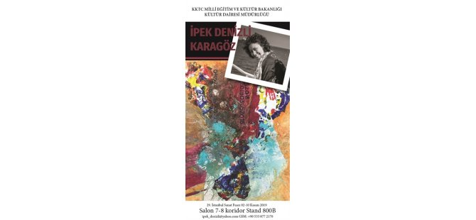 Kıbrıslı yazar ve sanatçılar  Uluslararası İstanbul Kitap Fuarı' ve Uluslararası İstanbul Sanat Fuarı/Artist 2019'da yer alacak