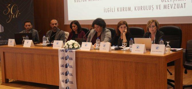 LAÜ'de Kuzey Kıbrıs'ta Planlama ve Koruma Yönetimi Kurultayı'nın 1. Günü yapıldı
