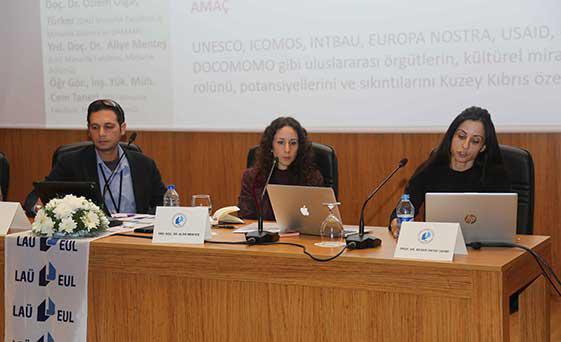 """LAÜ'de düzenlenen """"Kuzey Kıbrıs'ta Planlama ve Koruma Yönetimi Kurultayı"""" yoğun katılım ile sona erdi"""