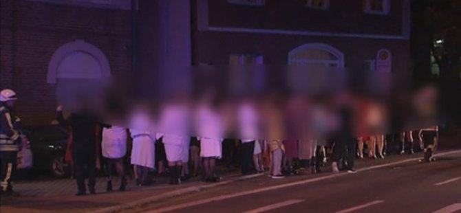 Swinger partisinde 11 kişi hastanelik oldu, faciadan dönüldü