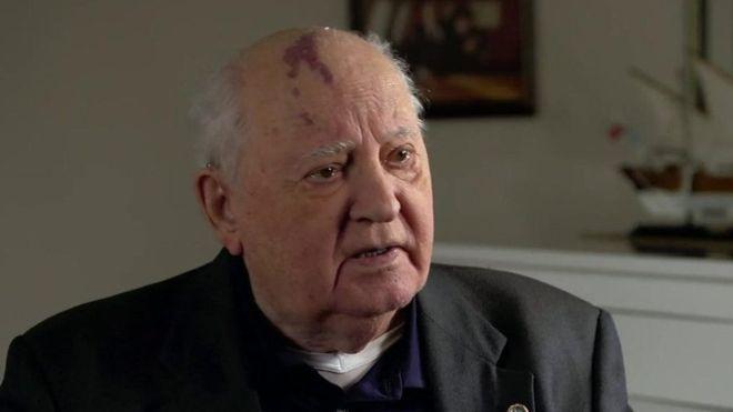 Gorbaçov BBC'ye konuştu: Rusya ve Batı arasındaki gerilim dünya için büyük tehlike