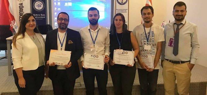 Yakın Doğu Üniversitesi İletişim Fakültesi Uluslararası Akdeniz Bilimsel Araştırmalar Kongresi'nde temsil edildi