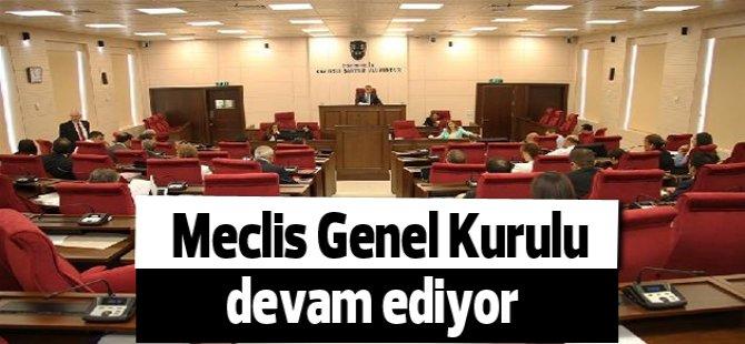 Meclis Genel Kurulu bütçe görüşmelerine devam ediyor