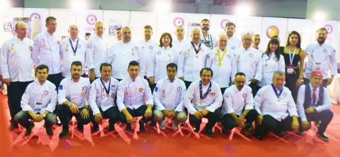 DAÜ Gastronomi Ve Mutfak Sanatları Programı Anatolian Salon Culınary yarışmalarında temsil edildi