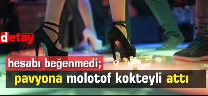 Ankara'da 5 kişi hesabı beğenmedi; pavyona molotof kokteyli attı