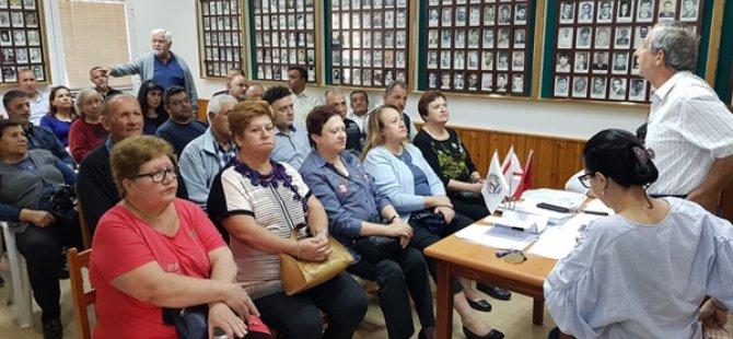 Şehit Aileleri ve Malül Gaziler Derneği olağan genel kurul toplantısı yapıldı