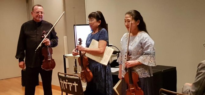 İlias Abdullin'i Tokyo Filarmonisi'nde Solo Performans Sergiledi…
