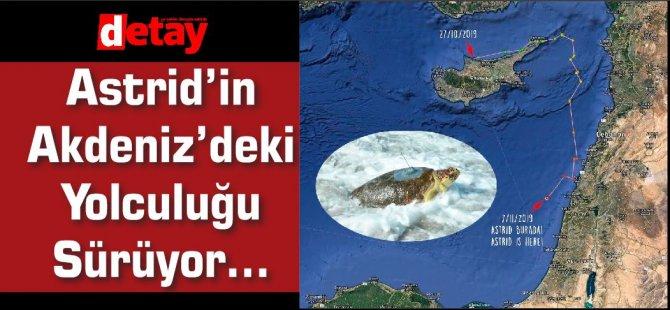 Astrid'in Akdeniz'deki Yolculuğu Sürüyor…
