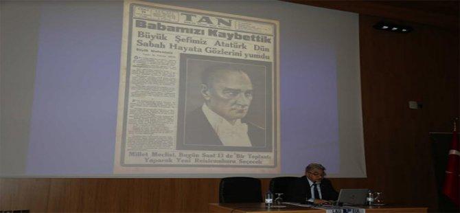 Mustafa Kemal Atatürk, LAÜ'de Anıldı
