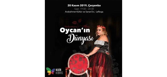 """Kuir Kıbrıs Derneği'nden """"Oycan'ın Dünyası"""""""