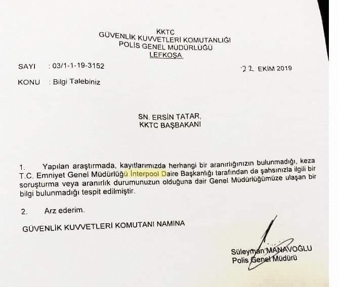 Tatar'ın PGM'den belge istediği doğru mu? Sosyal medya çalkalanıyor!