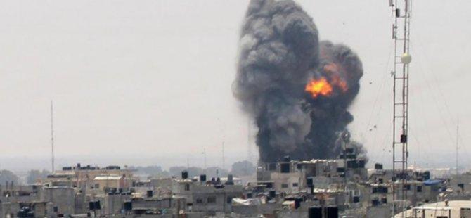 İsrail'in Gazze'ye hava saldırılarında ölü sayısı 12'ye yükseldi