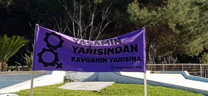 Bağımsızlık Yolu Girne Örgütü'nden 25 Kasım Kadına Yönelik Şiddete Karşı Mücadele günü için bölge örgütlerine çağrıda bulundu
