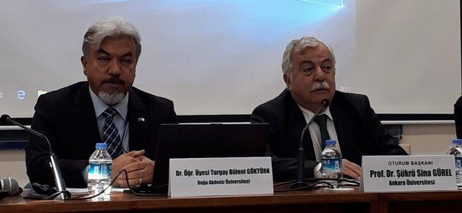 DAÜ Ataum Başkani Yrd. Doç. Dr. Turgay Bülent Göktürk Ankara'da Mülkiye Sempozyumu'na katildi
