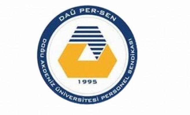 DAÜ PER-SEN'den Sendikal Platforma Sarı Sendika yanıtı!