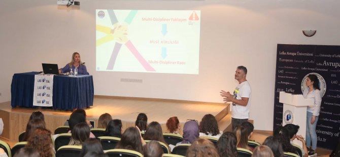"""LAÜ'de """"Gıda Katkı Maddeleri ve Risk İletişimi"""" konulu seminer düzenlendi"""
