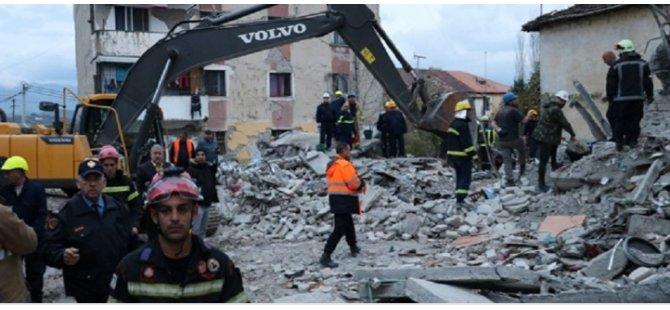 Arnavutluk'taki depremde ölü sayısı 31'e yükseldi