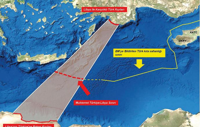 Rumlardan Türkiye ile anlaşma imzalayan Libya'ya NOTA!