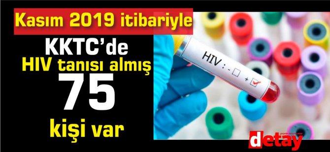 KKTC'de HIV/AIDS tanısı almış 75 kişi var