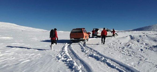 Uludağ'da kaybolan dağcılarla ilgili gelişme